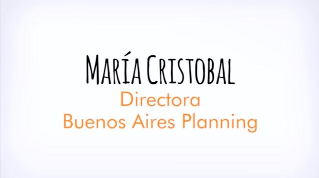 Entrevista con María Cristobal