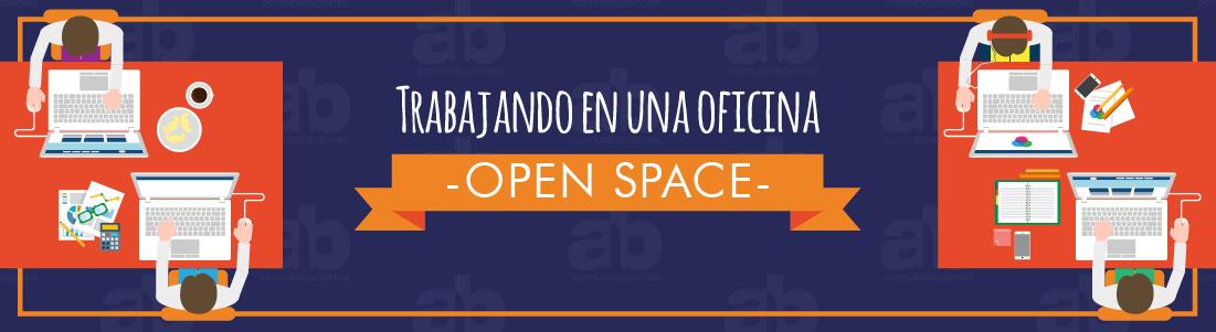 Trabajando en una oficina: open space
