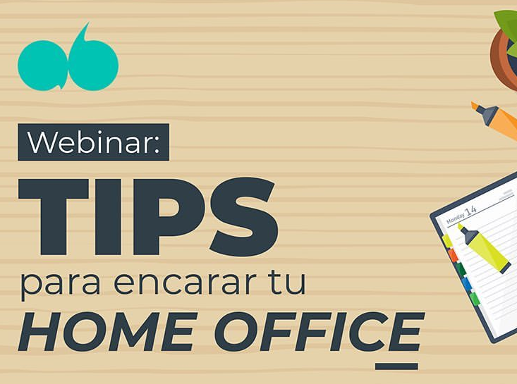 Webinar – Organiza tu home office