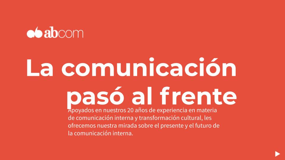 Informe: tendencias de comunicación